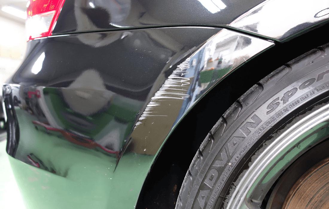 車傷修理のお見積り