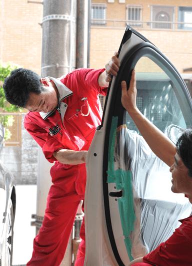 車修理のポリシー