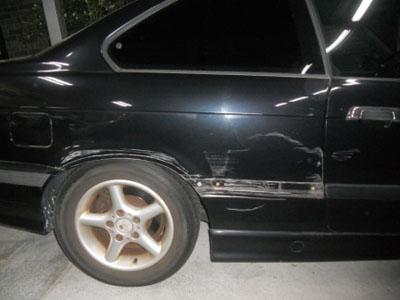 BMW 318 ディーラーで交換のケースでも、修理で大丈夫!永久保証です!