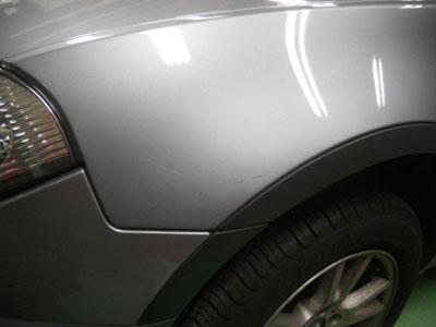 BMW,X3 なるべくお安く、周りの部品の脱着はせずに修理。