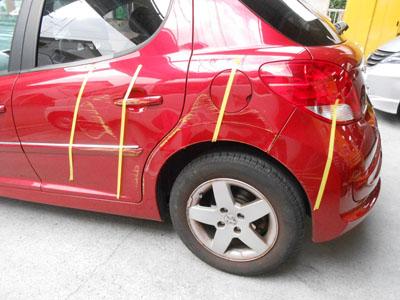 プジョー、207 車両保険をご利用の場合はキャッシュバック付き!