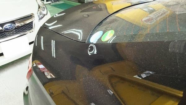 アウディA3、クォーターパネル板金塗装