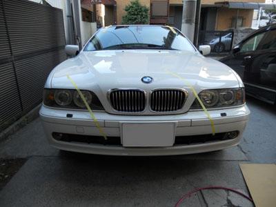 BMW 飛び石修理 来年の保険料は上がりません!現金キャッシュバック付き!!