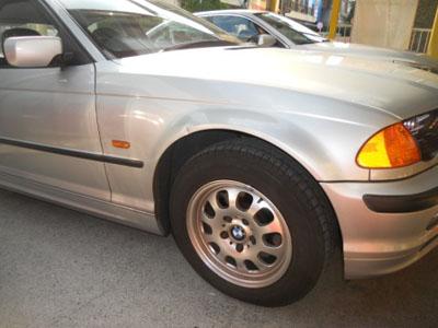 BMW 等級据え置き保険修理
