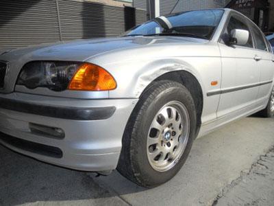BMW・3シリーズ お客様にあった最良の修理方法で!