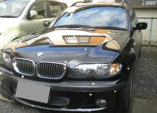 BMW 飛び石修理でキャッシュバック