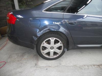 アウディS6 交換は事故車ですのでご注意を!修理でなおしましょう!