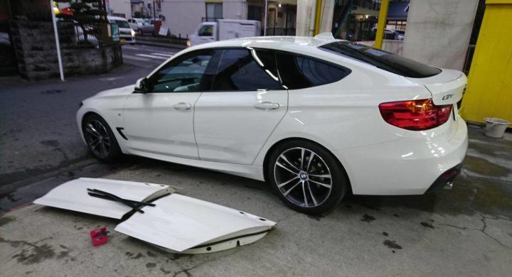 BMW 3シリーズGT/車両保険修理事例