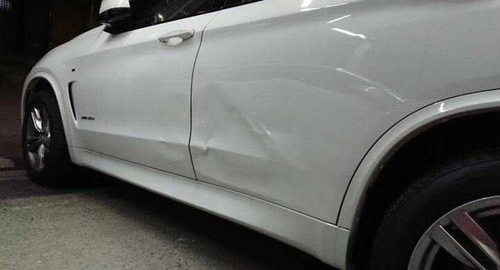BMWX5/ドア交換 /お客様と愛車にベストな修理をご提案